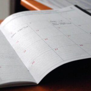 calendar for schedule